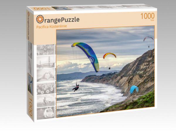 """Puzzle Motiv """"Pacifica Küstenlinie"""" - Puzzle-Schachtel zu 1000 Teile Puzzle"""