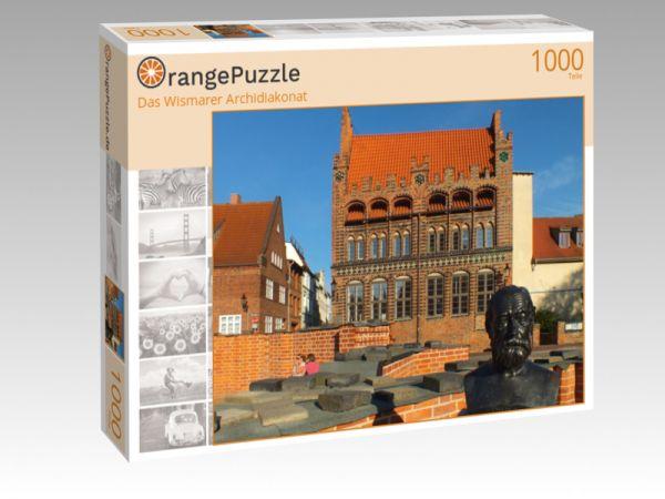 """Puzzle Motiv """"Das Wismarer Archidiakonat"""" - Puzzle-Schachtel zu 1000 Teile Puzzle"""
