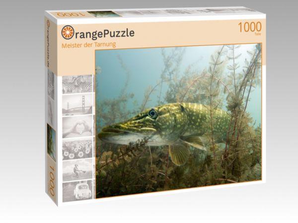 """Puzzle Motiv """"Meister der Tarnung"""" - Puzzle-Schachtel zu 1000 Teile Puzzle"""