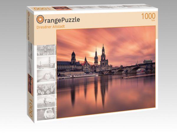 "Puzzle Motiv ""Dresdner Altstadt"" - Puzzle-Schachtel zu 1000 Teile Puzzle"