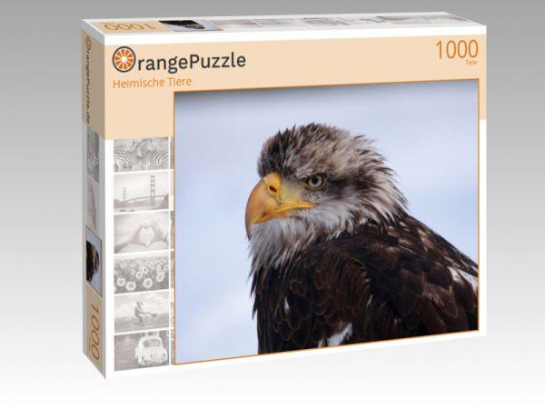 """Puzzle Motiv """"Heimische Tiere"""" - Puzzle-Schachtel zu 1000 Teile Puzzle"""
