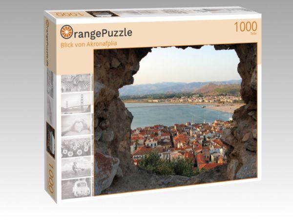 """Puzzle Motiv """"Blick von Akronafplia"""" - Puzzle-Schachtel zu 1000 Teile Puzzle"""