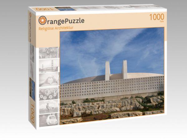 """Puzzle Motiv """"Religiöse Architektur"""" - Puzzle-Schachtel zu 1000 Teile Puzzle"""
