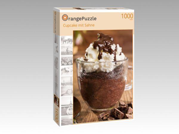 """Puzzle Motiv """"Cupcake mit Sahne"""" - Puzzle-Schachtel zu 1000 Teile Puzzle"""