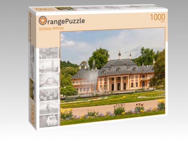 """Puzzle Motiv """"Schloss Pillnitz"""" - Puzzle-Schachtel zu 1000 Teile Puzzle"""