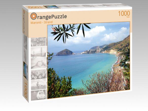 """Puzzle Motiv """"Maronti - Strand"""" - Puzzle-Schachtel zu 1000 Teile Puzzle"""