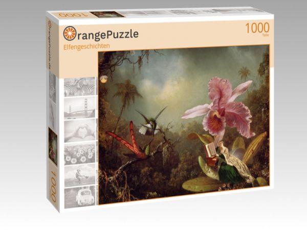 """Puzzle Motiv """"Elfengeschichten"""" - Puzzle-Schachtel zu 1000 Teile Puzzle"""