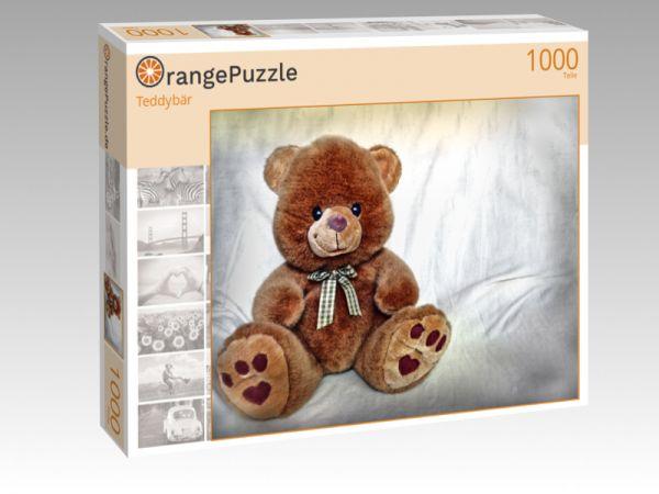 "Puzzle Motiv ""Teddybär"" - Puzzle-Schachtel zu 1000 Teile Puzzle"