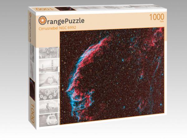 """Puzzle Motiv """"Cirrusnebel NGC 6992"""" - Puzzle-Schachtel zu 1000 Teile Puzzle"""