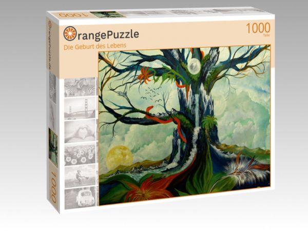 """Puzzle Motiv """"Die Geburt des Lebens"""" - Puzzle-Schachtel zu 1000 Teile Puzzle"""