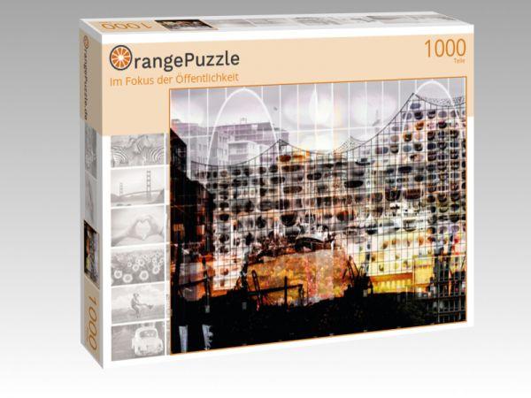 """Puzzle Motiv """"Im Fokus der Öffentlichkeit"""" - Puzzle-Schachtel zu 1000 Teile Puzzle"""