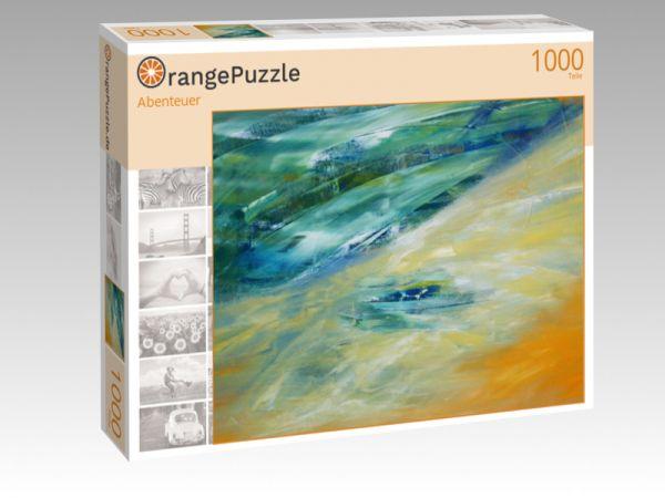 """Puzzle Motiv """"Abenteuer"""" - Puzzle-Schachtel zu 1000 Teile Puzzle"""
