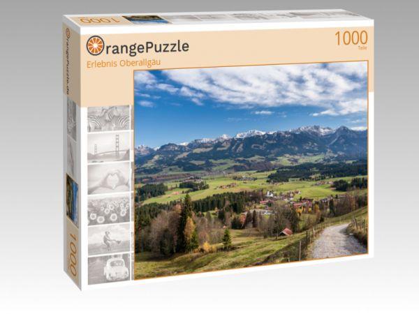 "Puzzle Motiv ""Erlebnis Oberallgäu"" - Puzzle-Schachtel zu 1000 Teile Puzzle"