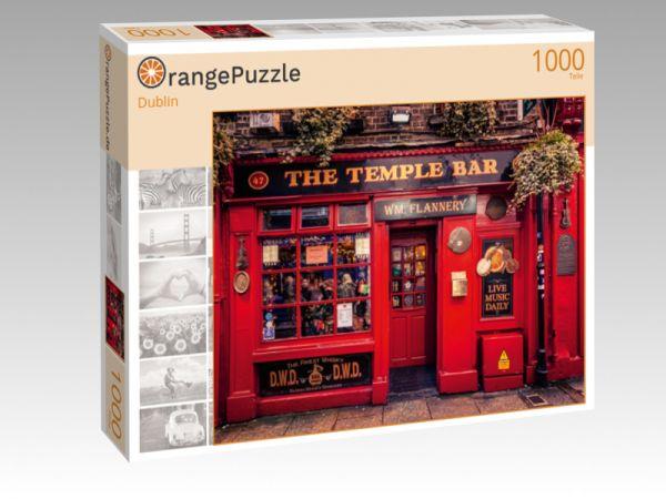 """Puzzle Motiv """"Dublin"""" - Puzzle-Schachtel zu 1000 Teile Puzzle"""