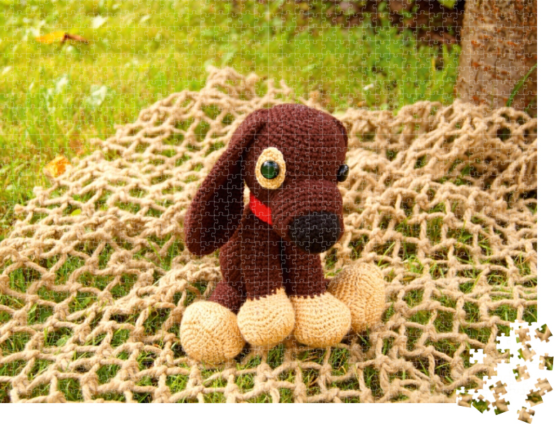 Crochet Dog-Amigurumi, DEXTER The Dachshund, Stuffed Animal, Dog ... | 608x800