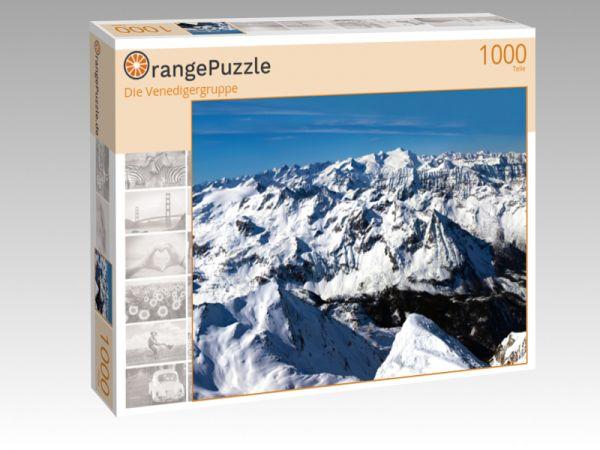 """Puzzle Motiv """"Die Venedigergruppe"""" - Puzzle-Schachtel zu 1000 Teile Puzzle"""