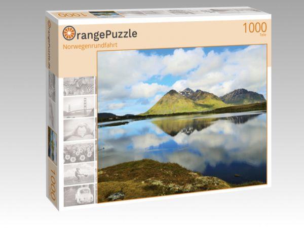 """Puzzle Motiv """"Norwegenrundfahrt"""" - Puzzle-Schachtel zu 1000 Teile Puzzle"""