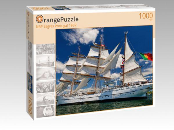 """Puzzle Motiv """"NRP Sagres Portugal 1937"""" - Puzzle-Schachtel zu 1000 Teile Puzzle"""