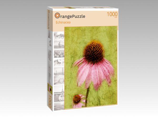 """Puzzle Motiv """"Echinacea"""" - Puzzle-Schachtel zu 1000 Teile Puzzle"""