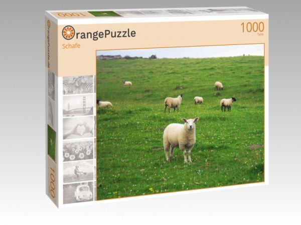 "Puzzle Motiv ""Schafe"" - Puzzle-Schachtel zu 1000 Teile Puzzle"