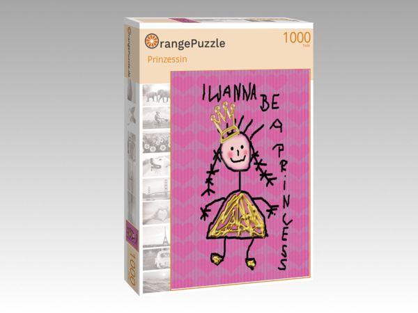 """Puzzle Motiv """"Prinzessin"""" - Puzzle-Schachtel zu 1000 Teile Puzzle"""