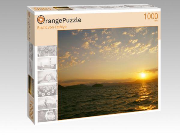 """Puzzle Motiv """"Bucht von Fethiye"""" - Puzzle-Schachtel zu 1000 Teile Puzzle"""