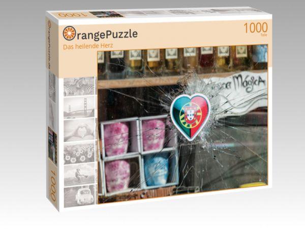 """Puzzle Motiv """"Das heilende Herz"""" - Puzzle-Schachtel zu 1000 Teile Puzzle"""