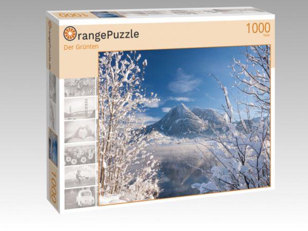 "Puzzle Motiv ""Der Grünten"" - Puzzle-Schachtel zu 1000 Teile Puzzle"