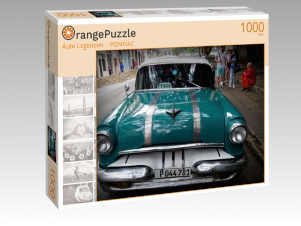 """Puzzle Motiv """"""""Auto Legenden -  PONTIAC"""""""" - Puzzle-Schachtel zu 1000 Teile Puzzle"""