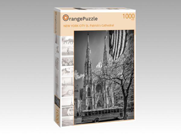 """Puzzle Motiv """"NEW YORK CITY St. Patrick's Cathedral"""" - Puzzle-Schachtel zu 1000 Teile Puzzle"""