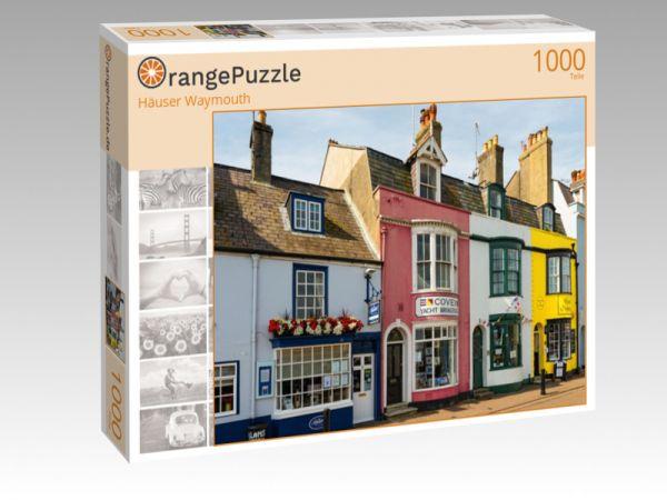 """Puzzle Motiv """"Häuser Waymouth"""" - Puzzle-Schachtel zu 1000 Teile Puzzle"""