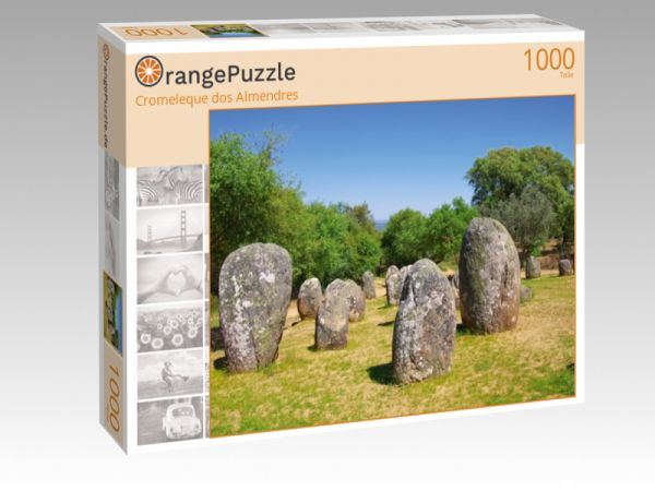 """Puzzle Motiv """"Cromeleque dos Almendres"""" - Puzzle-Schachtel zu 1000 Teile Puzzle"""