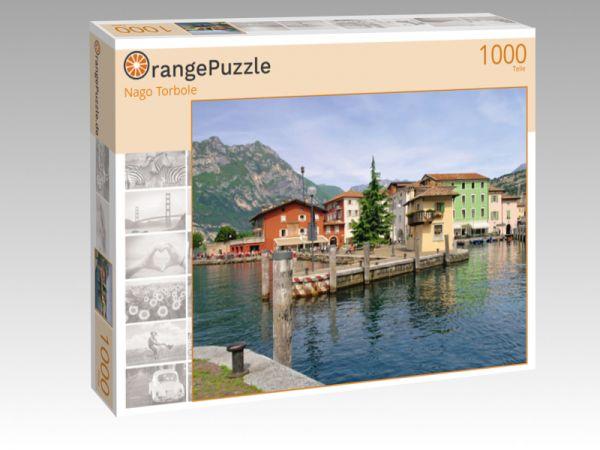 """Puzzle Motiv """"Nago Torbole"""" - Puzzle-Schachtel zu 1000 Teile Puzzle"""