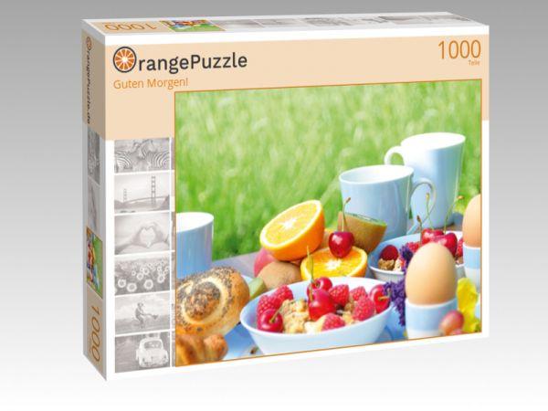 "Puzzle Motiv ""Guten Morgen!"" - Puzzle-Schachtel zu 1000 Teile Puzzle"