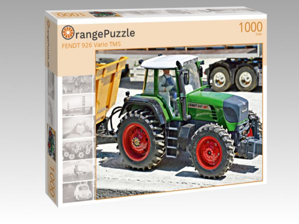 """Puzzle Motiv """"FENDT 926 Vario TMS"""" - Puzzle-Schachtel zu 1000 Teile Puzzle"""