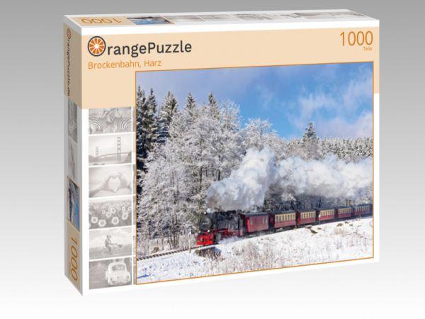 "Puzzle Motiv ""Brockenbahn, Harz"" - Puzzle-Schachtel zu 1000 Teile Puzzle"