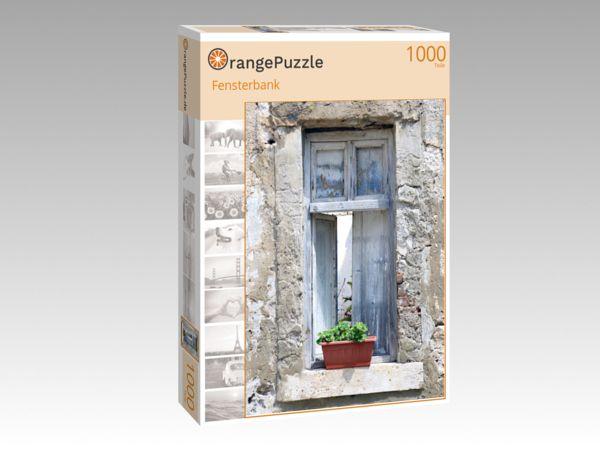 """Puzzle Motiv """"Fensterbank"""" - Puzzle-Schachtel zu 1000 Teile Puzzle"""