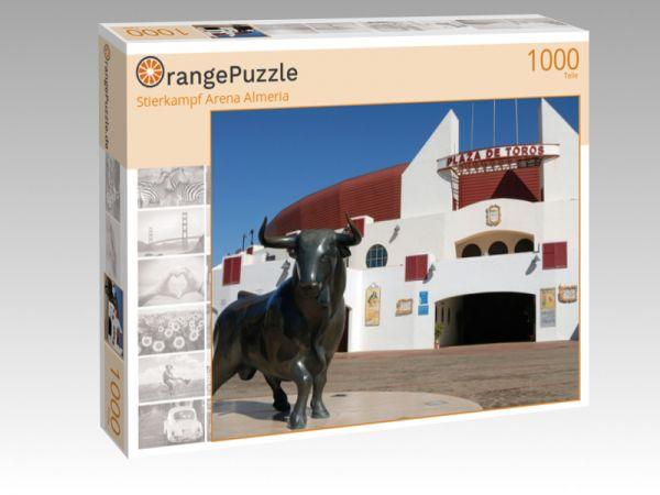 "Puzzle Motiv ""Stierkampf Arena Almeria"" - Puzzle-Schachtel zu 1000 Teile Puzzle"